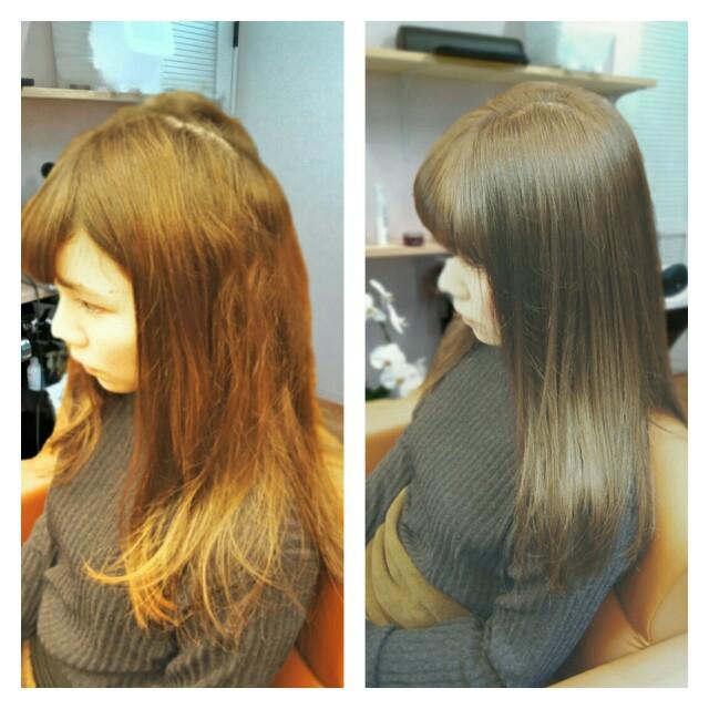 ef,mayke`s(エフメイクス)の髪質改善は毎日、乾かすだけで持続 1
