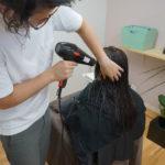 髪を乾かすポイント 1