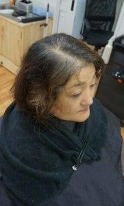 前回の髪質改善から2か月 13