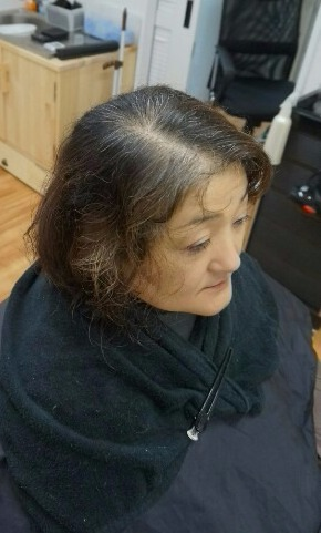 前回の髪質改善から2か月 1