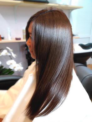 カラーの色持ちが悪い、髪質改善 2