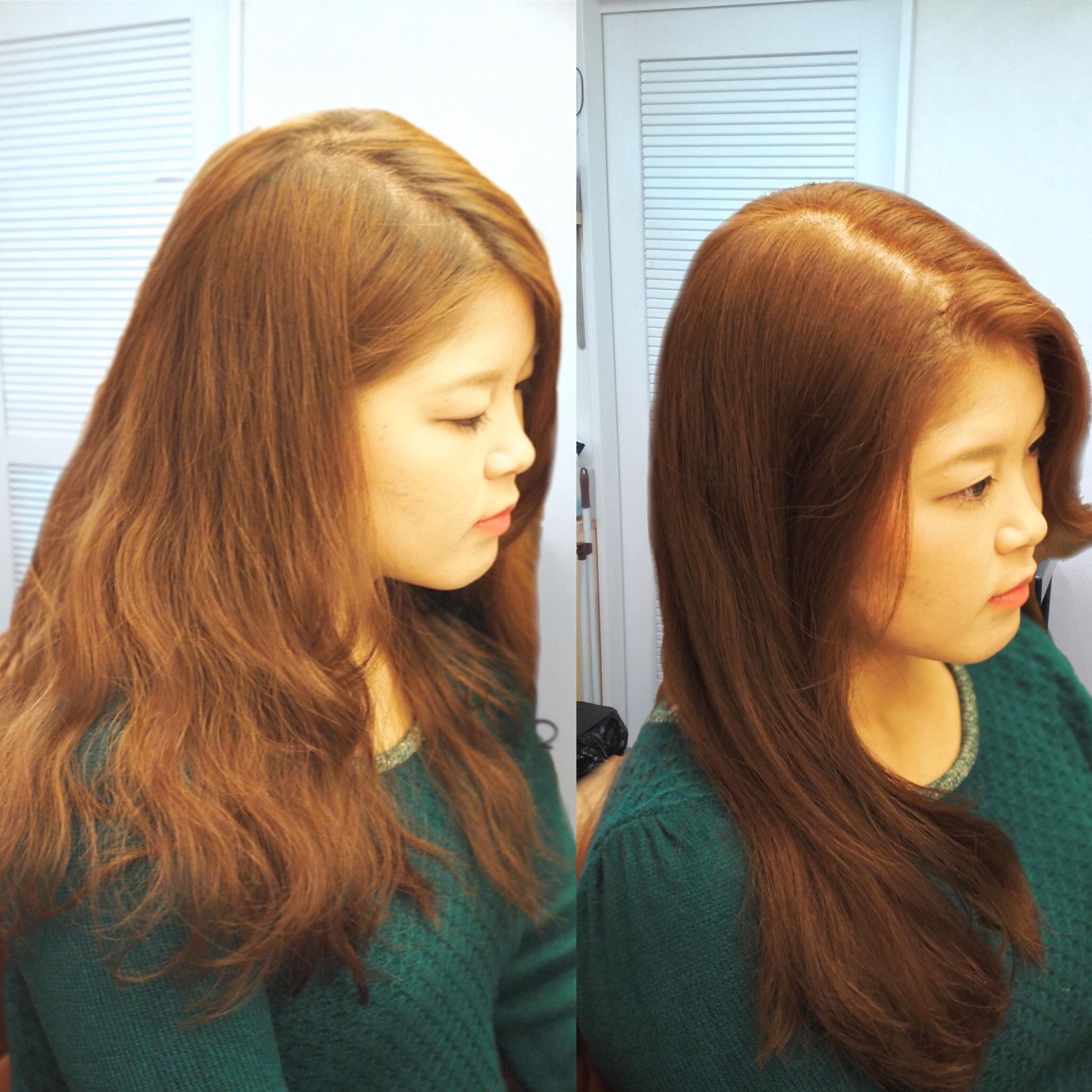 エフメイクスの髪質改善 1