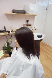 傷んだ髪を綺麗な髪に 1