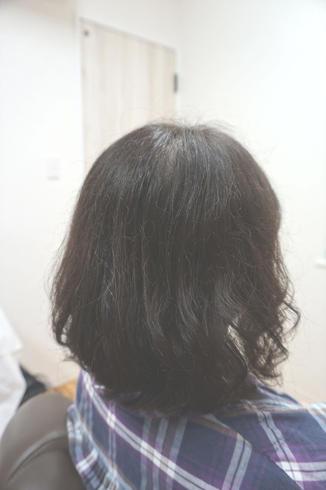 前回の髪質改善から2か月 3