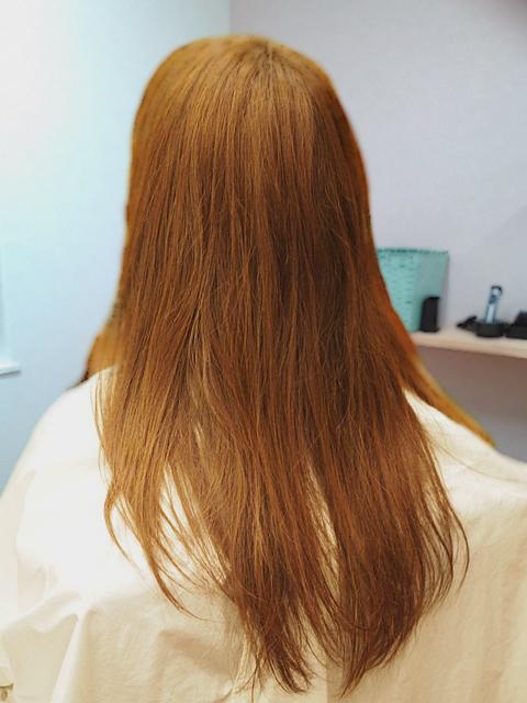 カラーの色持ちが悪い、髪質改善 1