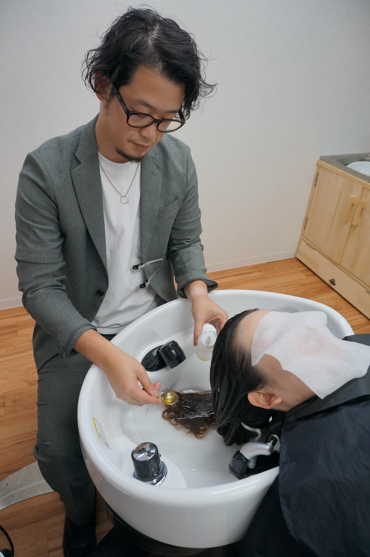 傷んだ髪を綺麗な髪に 3