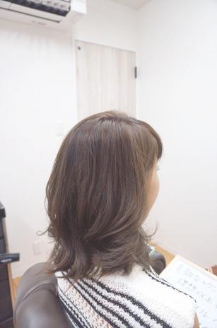 エフメイクスでの髪質改善 1